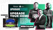 Hisense Kicks off #UpgradeYourHome Campaign for UEFA EURO 2020 with Campaign Ambassador Dwyane Wade and Football Legends