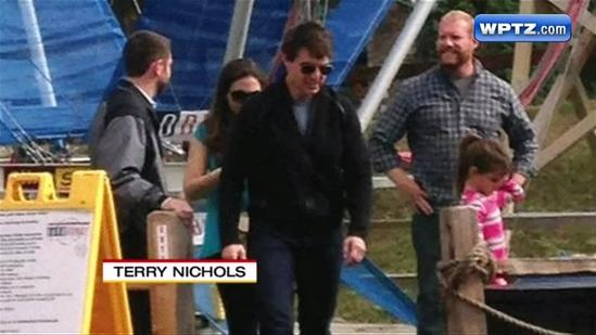 Tom Cruise visits local mountain