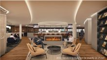 WestJet's flagship lounge in Calgary, a home within our home