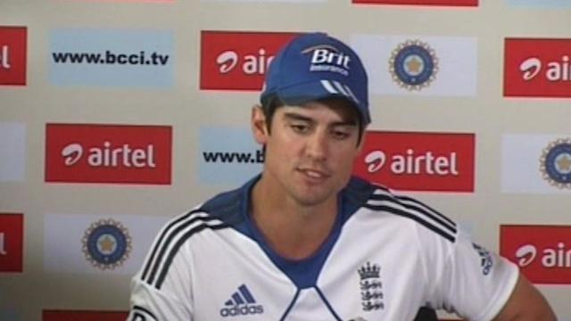 England captain Alastair Cook Surprised by the omission of Virendra Sehwag..
