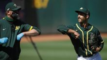 A's righty Daniel Mengden tests positive for coronavirus