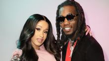 Cardi B Bares Her Baby Bump on 'Rolling Stone' Cover With Offset