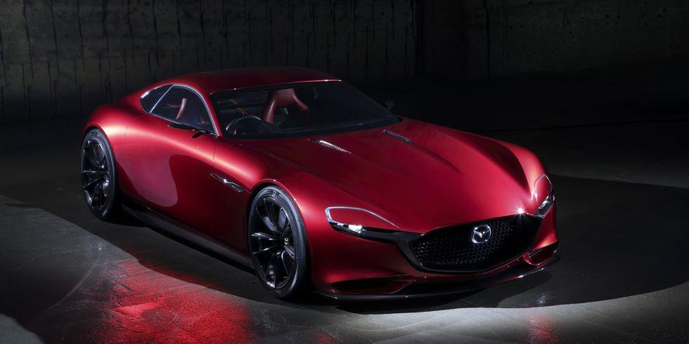 <p>The RX-Vision is Mazda's representation of what a future rotary-powered sports car might look like, and it's stunning. Sadly, it's still just a concept for now</p>