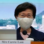 U.S. imposes sanctions on Hong Kong's Lam, other officials over crackdown