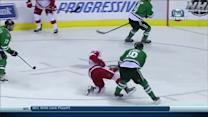 Zetterberg blasts a one-timer from one knee