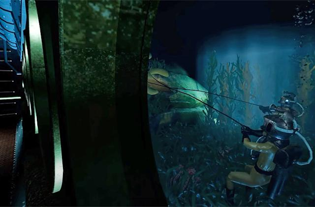 Disney's decommissioned '20,000 Leagues' ride gets a second life in VR