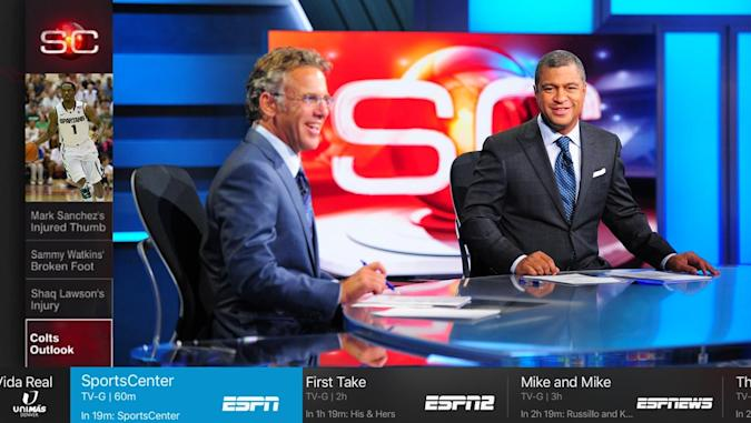 Sling TV debuts its new look on Apple TV
