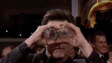 Fans go crazy for Jim Carrey's Golden Globes skit