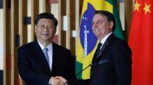 """Bolsonaro afirma que """"China es cada vez más parte del futuro de Brasil"""""""