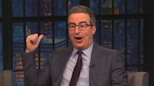 John Oliver mocks media outlets over 'irritating' Super Tuesday coverage