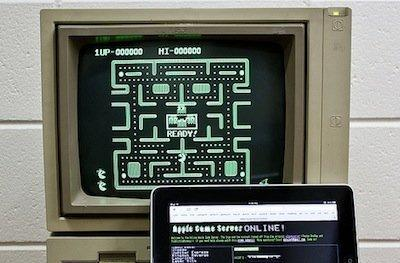 Flickr Find: Transferring games from iPad to Apple II