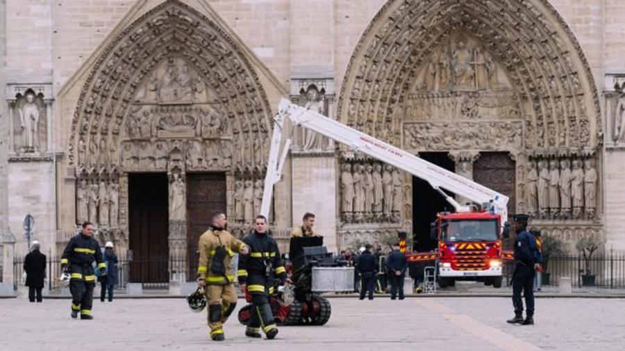 """Une cathédrale """"éphémère"""" va être élevée à Notre-Dame"""