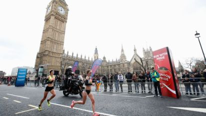 London Marathon 2017 race