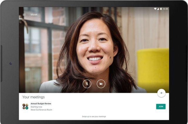 Hangouts Meet has been renamed to Google Meet