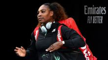 Serena steals world No.1's limelight with awkward blunder