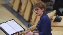 'Get your waterproofs out': Bad weather no excuse to break lockdown, Nicola Sturgeon warns