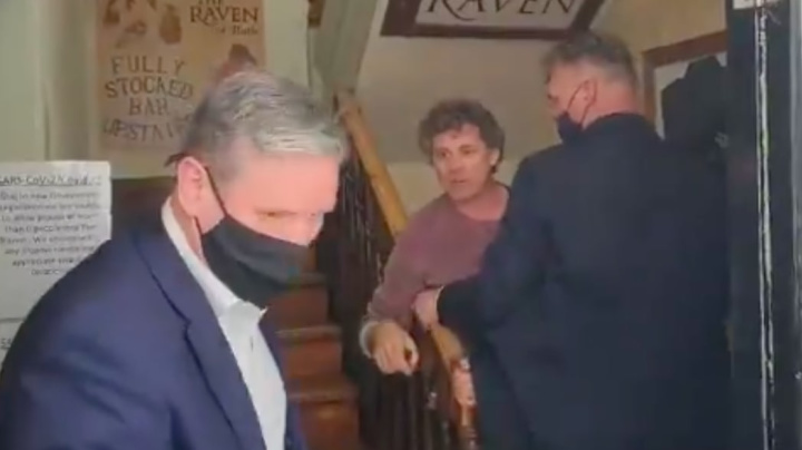 Landlord tells Starmer to leave: 'Get out of my pub!'