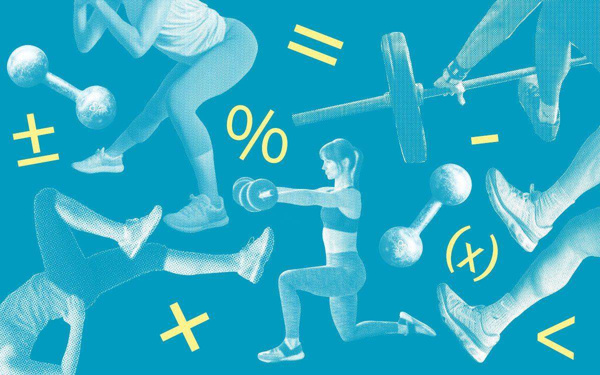 From walking at 4mph to climbing stairs every hour, we reveal the maths of midlife fitness
