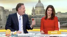 Piers Morgan drops shock marriage proposal to Susanna Reid