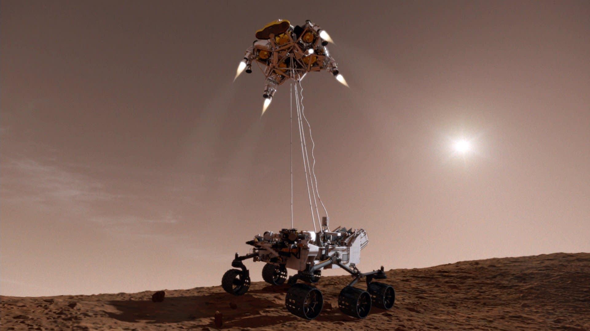 mars rover landing - HD1920×1080