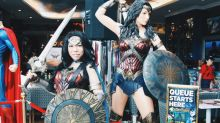 Wonder Woman takes over DC Comics Super Heroes Cafe at Marina Bay Sands
