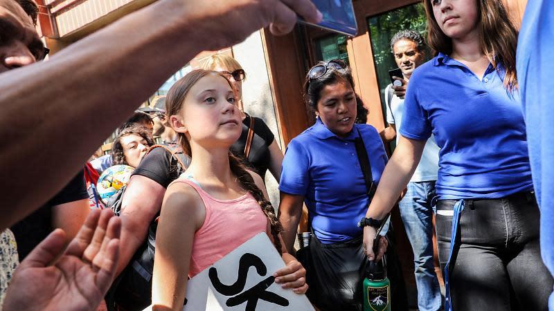 Greta Thunberg New York