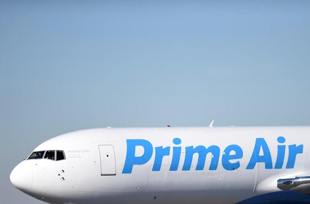 Amazon's cargo jets cut shipping costs by carrying the light loads