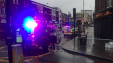 Woman dies after being hit by four vehicles in south London - and none of the drivers stopped at the scene