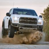 So mega: 2017 Ford F-150 Raptor runs loose with 450 hp