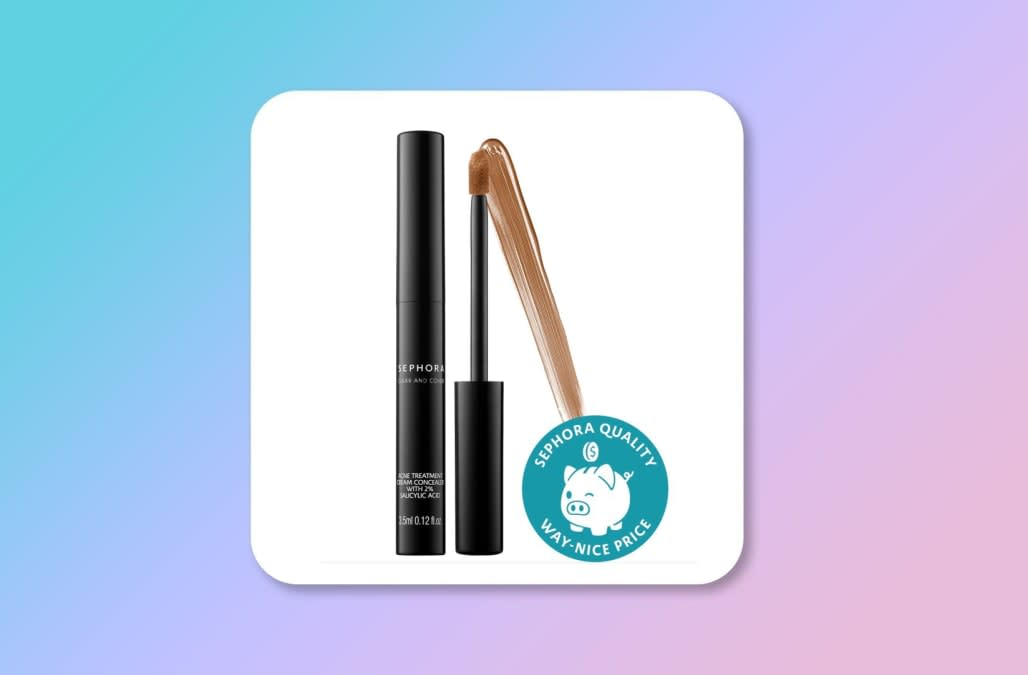 This 14 Concealer Doubles As An Effective Acne Treatment