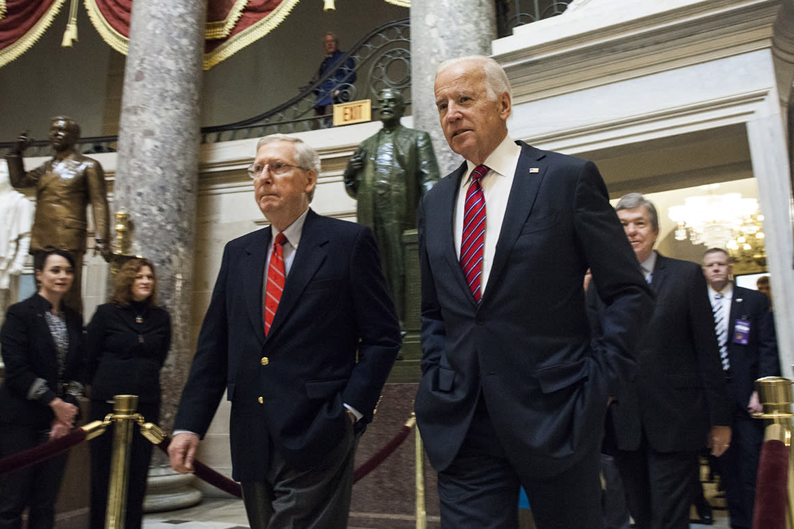 'A dreaded two years': Biden, allies gear up to face a GOP Senate