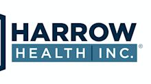 """Harrow Health Announces Offering of $25 Million Senior Notes Due 2026 and """"BB"""" Rating from Egan-Jones"""