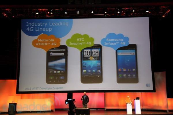 AT&T launching 12 Android devices in 2011