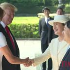 President Trump Becomes the First World Leader to Meet Japan's New Emperor
