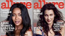 Naomi Campbell and Bella Hadid Talk Model Culture in March 2016 Allure