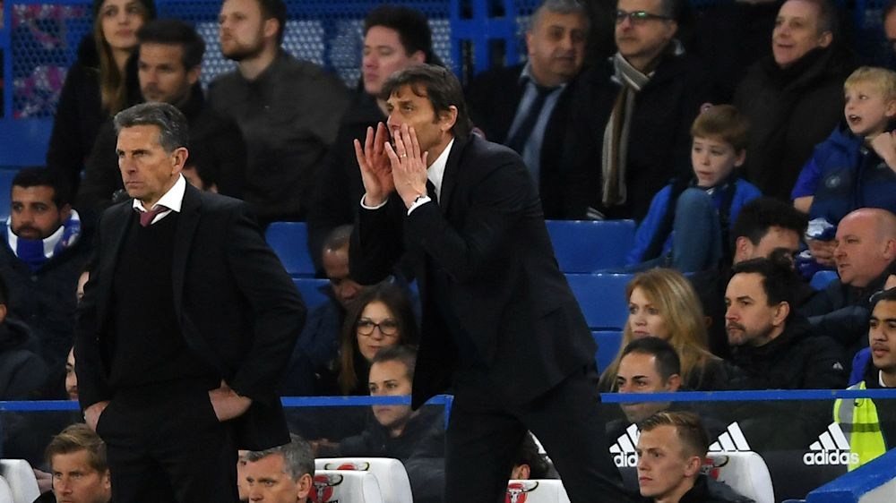 I have a squad of great men - Conte lauds Chelsea toughness in Southampton win