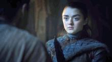 Maisie Williams responde a los que dicen sentirse incómodos con el despertar sexual de Arya