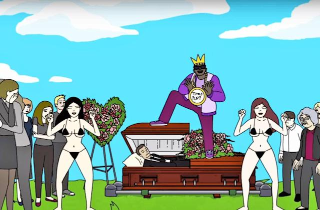 Brad Neely's weird Adult Swim cartoon premieres on Vine
