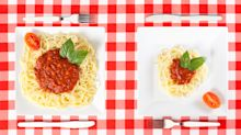 Nutritionists launch portion size guide to tackle obesity