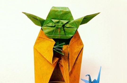 Inhabitat's Week in Green: origami Yoda, high-speed rail line and a self powered building