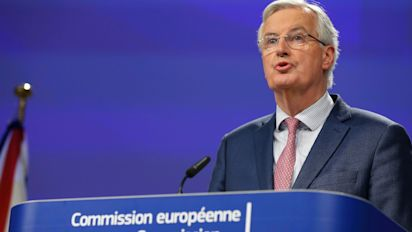 Barnier warns business to prepare for cliff edge Brexit after talks setback