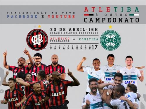 Dupla Atletiba recusa Globo de novo e confirma finais do Paranaense na web