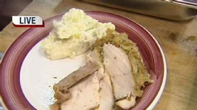 Thanksgiving Cooking: Sour Cream Mashed Potatoes