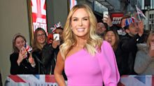 Amanda Holden presents radio show at home in her pyjamas