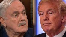 John Cleese very bluntly confirms that people in Britain don't like Trump