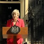 Theresa May says she'll quit as UK Conservative leader on June 7