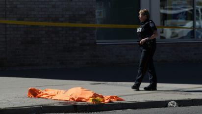 Véhicule-bélier à Toronto: 9 morts et 16 blessés (police)