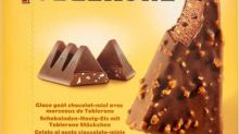 Toblerone ice cream delights and excites chocolate fans