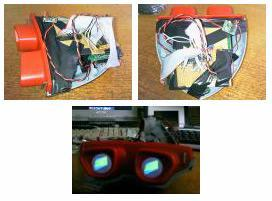 DIY'er equips stereoscopic viewer with LCD displays