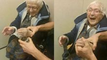 Grandmother, 99, happily gets arrested, placed in jail for bucket list